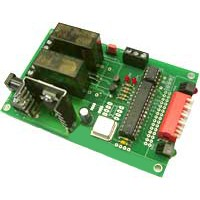 2 Channel DMX Relay Switch PCB