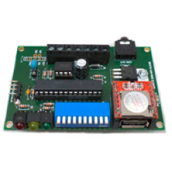 DMX MP3 Audio Player PCB - Control your audio playback with DMX