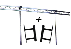 Overhead lighting Gantry kit for deckstand booth and dexstand range image