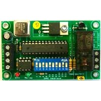 Single Channel DMX Relay Switch PCB